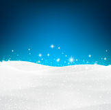 Christmas snowy background. Royalty Free Stock Image