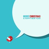 Christmas social media concept background Stock Photos