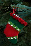 The Christmas Sock Royalty Free Stock Images