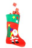 Christmas sock Royalty Free Stock Photo
