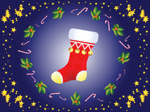 Christmas sock Royalty Free Stock Photos