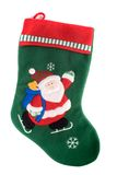 Christmas sock Stock Image