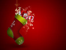 Christmas Sock royalty free illustration