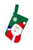 Christmas sock isolated Royalty Free Stock Photos