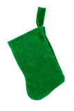 Christmas sock isolated Stock Photos