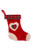 Christmas sock isolated Royalty Free Stock Photo