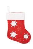 Christmas sock isolated on white Stock Photo