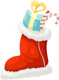 Christmas sock vector Royalty Free Stock Photo