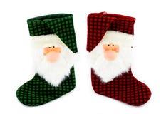 Christmas socks Royalty Free Stock Image