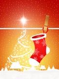 Christmas socks Royalty Free Stock Photo