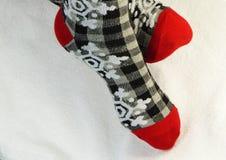 Christmas socks Stock Photography