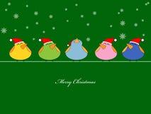 Christmas song Stock Photo