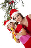 Christmas song Stock Image