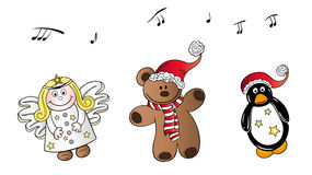 Christmas song Stock Photo