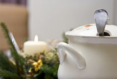 Christmas soup Stock Photography