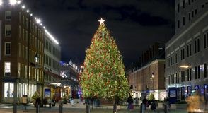Christmas South Street Seaport Royalty Free Stock Photography