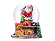 Christmas Souvenir isolated on a white Royalty Free Stock Images