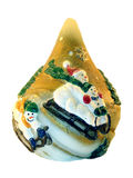 Christmas souvenir with snowmans Royalty Free Stock Photo