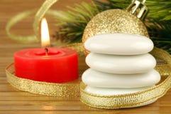 Christmas spa Stock Photo