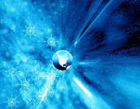 Christmas space royalty free stock photography