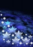 Christmas space background royalty free stock images