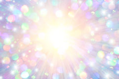 Rays and Sparkle Background Royalty Free Stock Images