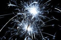 Christmas sparkler Stock Photography