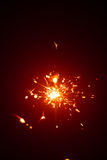 Christmas sparkler in haze Royalty Free Stock Images