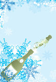 Christmas sparks, vector Stock Images