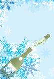 Christmas sparks, vector vector illustration