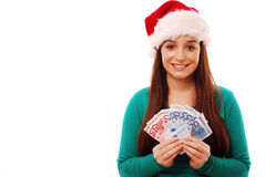 Christmas spending Stock Image