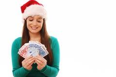 Christmas spending Royalty Free Stock Photos