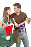 Christmas Spending Stock Photo
