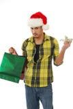 Christmas spending Stock Photo