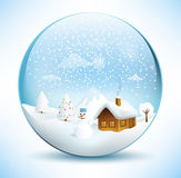 Christmas Sphere Stock Photography
