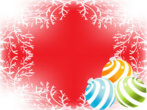 Christmas_sphere Stock Images