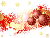 Christmas sphere. Christmas background with beautiful balls Stock Photo