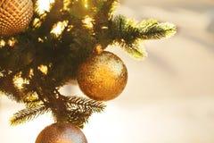 Christmas beautiful balls royalty free stock photos
