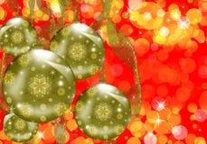 Christmas sphere Royalty Free Stock Photos