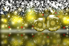 Christmas sphere Royalty Free Stock Images