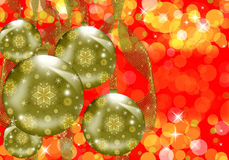 Christmas sphere Royalty Free Stock Photos