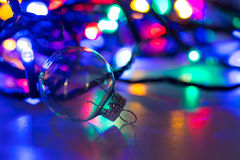 Christmas sphere party background. A christmas sphere party background Royalty Free Stock Image