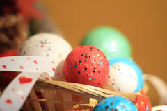 Christmas spheres. Stock Images
