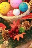 Christmas spheres. Royalty Free Stock Image