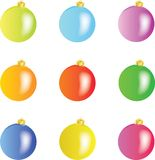 Christmas spheres -  Stock Photo