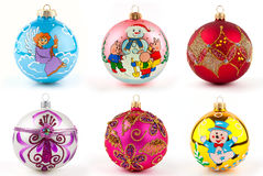 Christmas spheres Stock Image