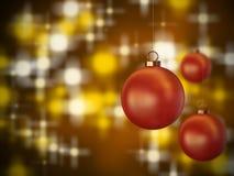 Christmas spheres 2 Royalty Free Stock Image
