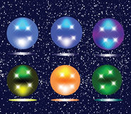 Christmas spheres Royalty Free Stock Image