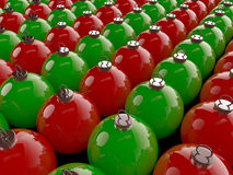 Christmas Spheres Royalty Free Stock Photography