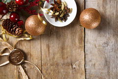 Christmas spice mix Stock Image